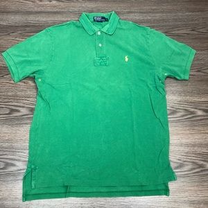 Polo Ralph Lauren Distressed Rugby Polo Shirt L